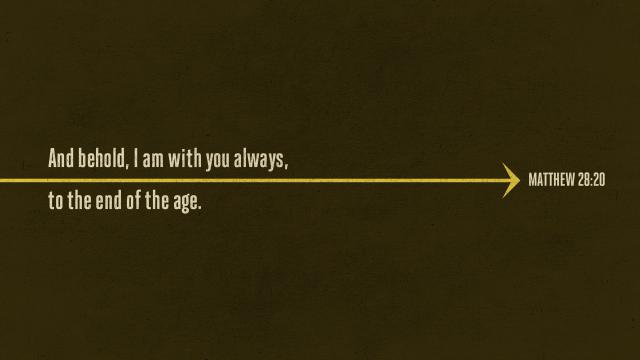 Matthew 28:20 [widescreen]